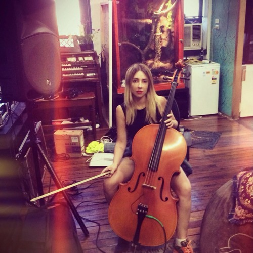 Bach Cello Suite #2 Prelude - Played by Alison Wonderland in her bedroom