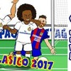 2-3! 🎤THE SHAPE OF MESSI🎤! Real Madrid vs Barcelona (El Clasico 2017 Parody Goals and Highlights