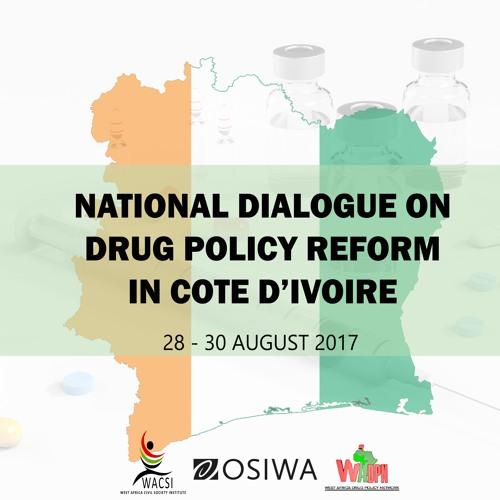 Dialogue national sur la réduction des risques liés à la drogue en Cote d'Ivoire