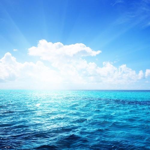 Deep Ocean And Blue Skies