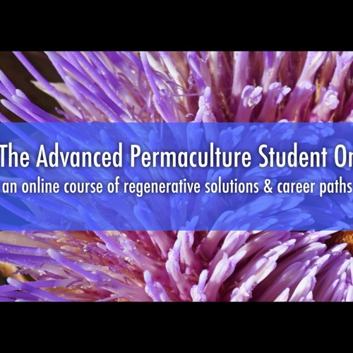 The Advanced Permaculture Student Online is LIVE on Kickstarter!!