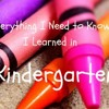 """Everything I Need to Know I Learned in Kindergarten: How the Grinch Stole Christmas"""
