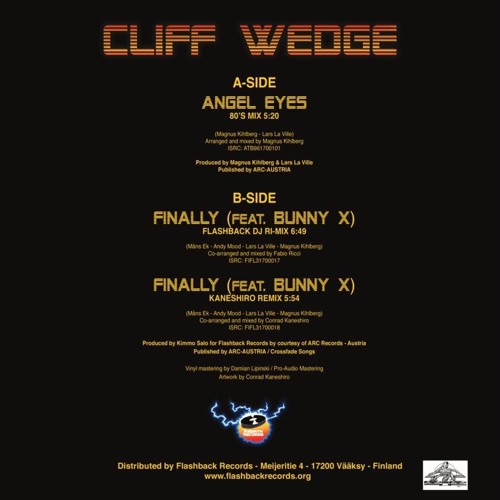 Cliff Wedge feat. Bunny X - Finally ( Flashback DJ Ri-mix)