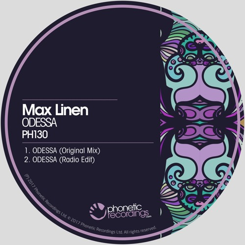 Max Linen - ODESSA (Radio Edit) OUT NOW