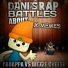 Parappa the Rapper vs Biggie Cheese. Dani's Rap Battles About Dank Memes Bonus Battle.