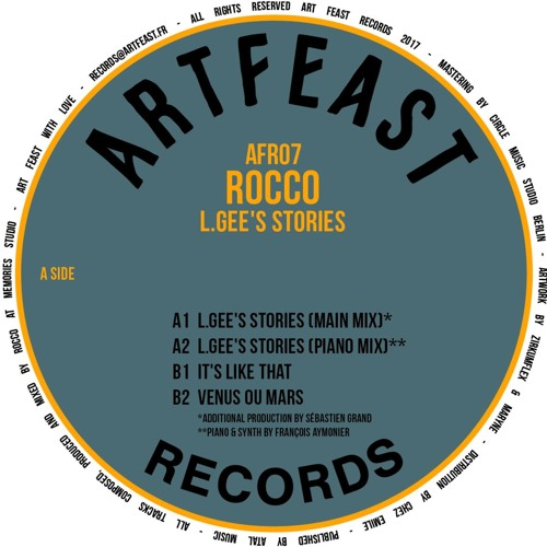 (A1) AFR07 Rocco - L.Gee's Stories (Main Mix)