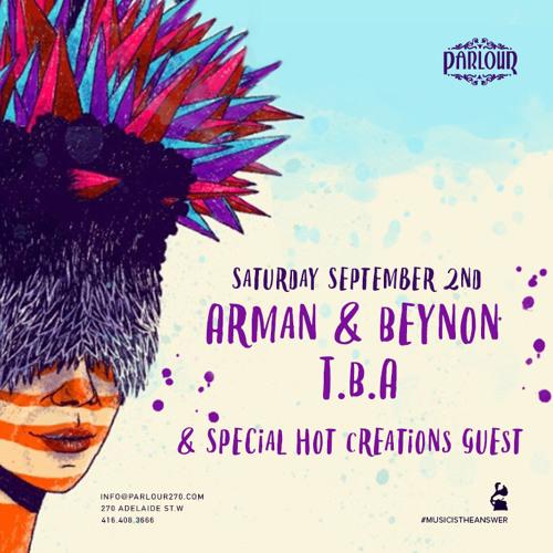 02-09-2017 - Arman & Beynon - Live From Arman & Beynon & Friends @ Parlour, Toronto