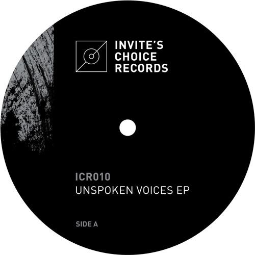 ICR010 - Border One - Unspoken Voices EP