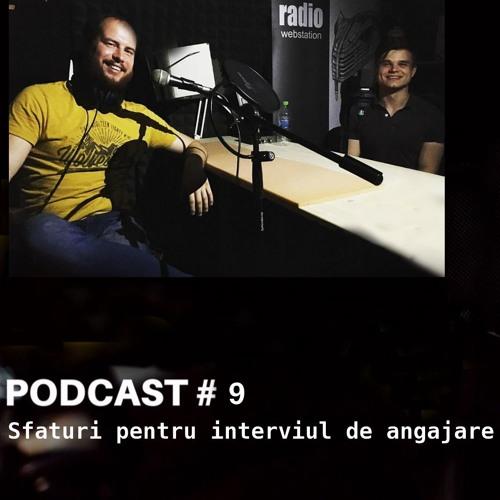 Sfaturi pentru interviul de angajare - Podcast #9 Bucureștiul Tinerilor
