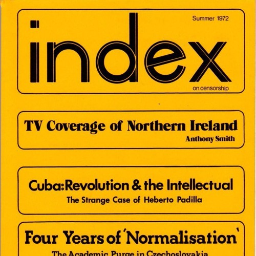 Michael Scammell: The beginning of Index on Censorship