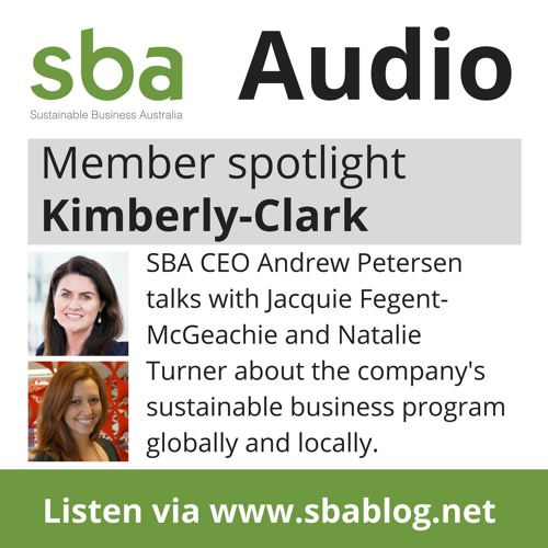 SBA Member Spotlight - Kimberly Clark