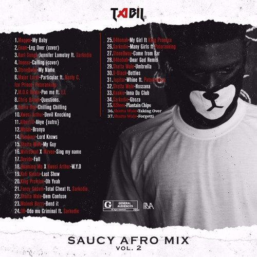 TABIL SAUCY AFRO MIX VOL 2