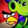 Angry Birds VS. PvZ (Plantas Vs. Zumbis) [Batalha de Gigantes]