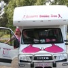 Groovy Booby Bus arrives in the Far West, spreading awareness on the importance of breast screening