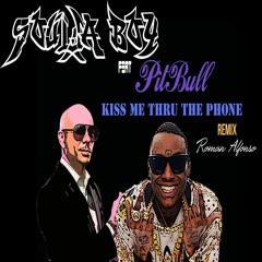 Soulja Boy Feat Pitbull - Kiss me through the phone (Prod. By Romano Alfonso) RNB4U LEGEND REMIX