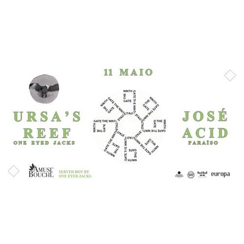 Ursa's Reef B2B José Acid @ Europa (11.05.17)