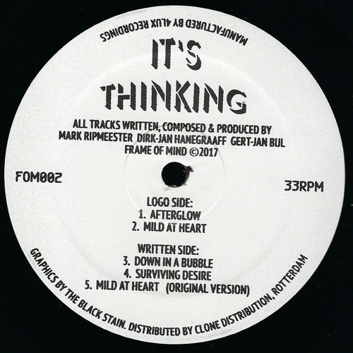 It\'s Thinking - Afterglow (Frame Of Mind - FOM002) by Gerd | Free ...