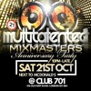MULTITALENTED - MIXMASTERS Anniversary Party Sat Oct 21st 2017