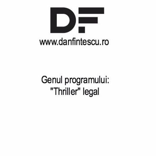 """Genul programului: """"Thriller"""" legal"""