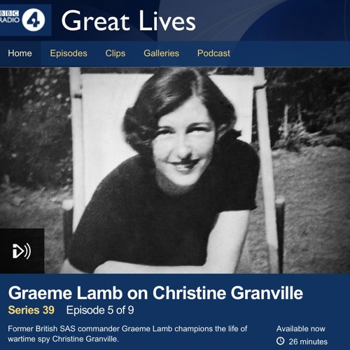 """Clare on """"Great Lives"""""""