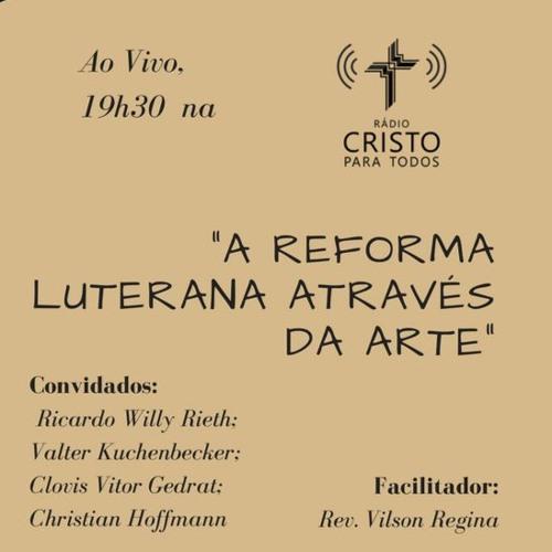 A Reforma Luterana através da Arte - palestra na aula magna da ULBRA Canoas