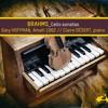 Gary HOFFMAN // BRAHMS, Cello Sonata no.2 in F major, op.99 (Allegro passionate)