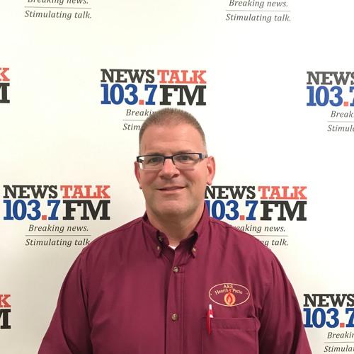 News Talk 103.7FM Welcomes Rick Soccio Of AES Hearth And Patio