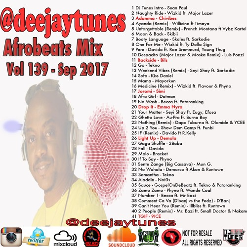 Vol 139 Afrobeat Mix 2017 Hosted By Sean Paul