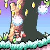 Yoshi's Island - Flower Garden (Fuzzy Yoshi 1)