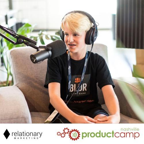 Jackson Lefler at ProductCamp Nashville 2017