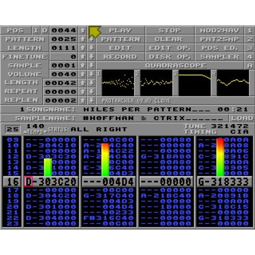 Hoffman & cTrix - Miles Per Pattern