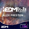 Alex Preston - iEDM Radio 156 2017-09-17 Artwork