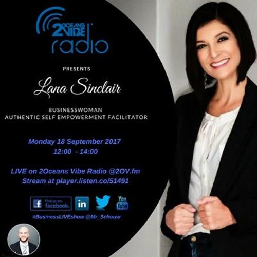 Lana Sinclair Live On Business Live Talk Show