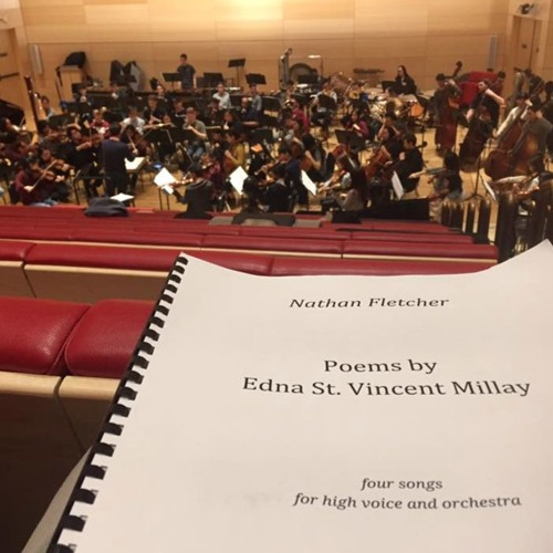 Poems by Edna St Vincent Millay (orchestra version)