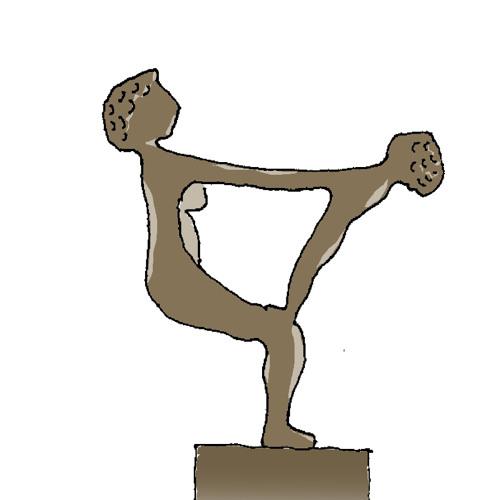 """4 Skulpturen """"Glädje"""""""