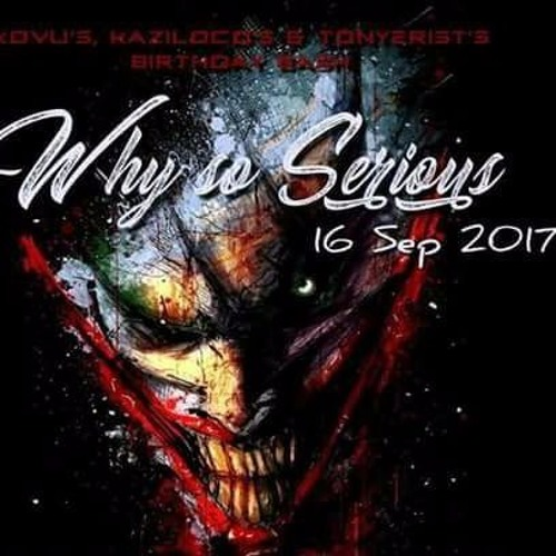 [16.09.2017]Mental Error B2B Kaziloco @ Why So Serious ?(Coreffein Records)
