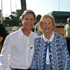 Penny Chenery with Ted Sobel