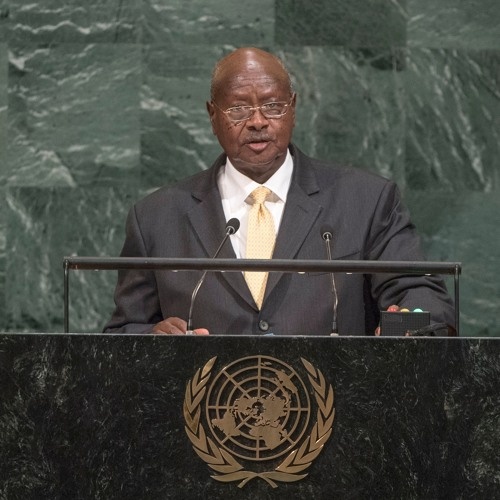 President Museveni addressing 72nd session of UN General assembly,Sept. 2017
