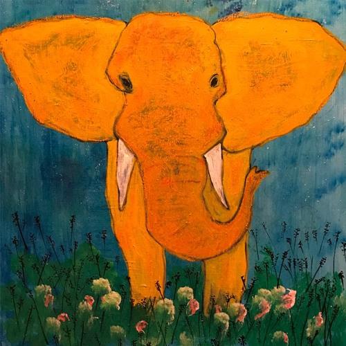 Elephant and a barbar