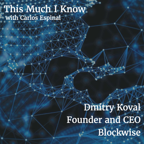 Dmitry Koval CEO at Blockwise on Blockchain and distributed applications
