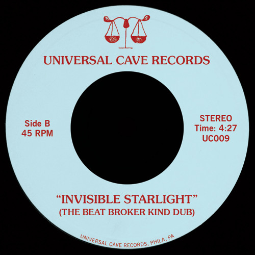 PREMIERE : Universal Cave - Invisible Starlight (The Beat Broker Kind Dub) [Universal Cave Records]