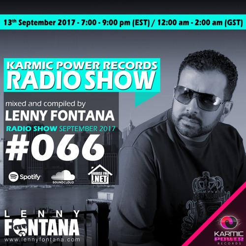 #66 Karmic Power Records Radio Show On HouseFM.NET mixed by Lenny Fontana 13. September 2017