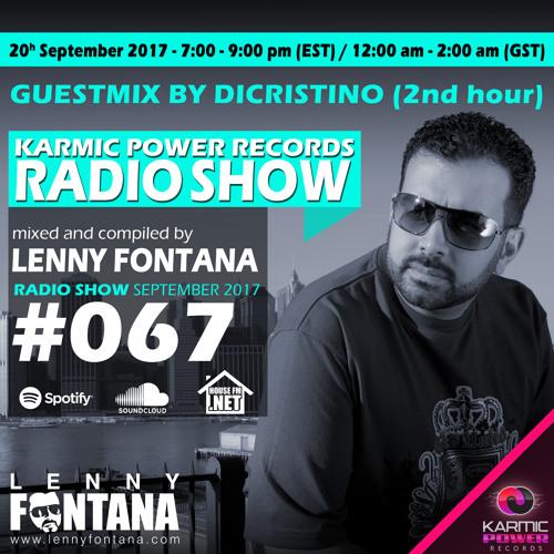 #67 Karmic Power Records Radio Show On HouseFM.NET mixed by Lenny Fontana 20. September 2017
