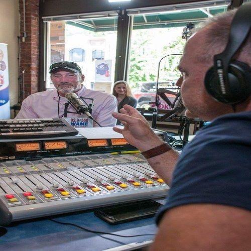 David Van Wie on Bryan About Town Weekend Sponsored by blueharbor bank