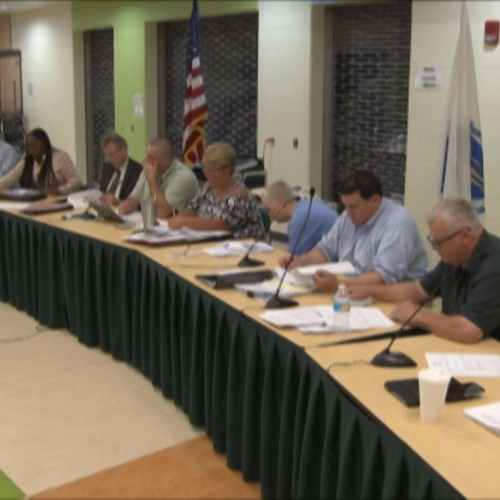 Greenfield Town Council Meeting September 20, 2017