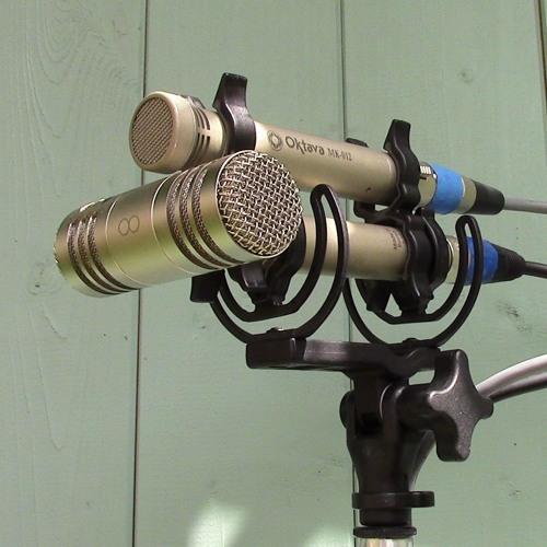 M - S Pair Sample Recording using Oktava MK012s