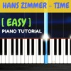 Hans Zimmer - Time Piano Tutorial With Lyrics / Album Inception / Synthesia Music Lesson