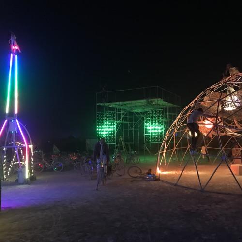 Wednesday (pre)Sunrise  @Giraffic Park - Burning Man 2017 (Part 1 of 3)