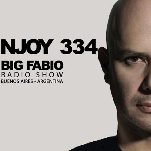NJOY MUSIK 334 / BIG FABIO Radio Show desde BUENOS AIRES, ARGENTINA.
