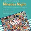 Nineties Night at Cafe station